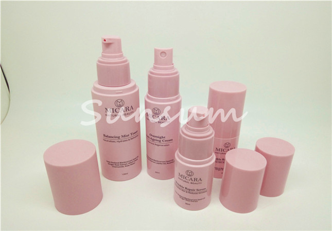 Matte color essence cream bottle