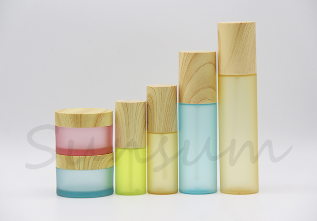 Wooden Luxury Lotion Bottle