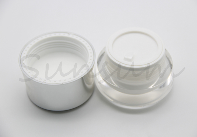 Acrylic Cosmetic Plastic Luxury Cream Jar