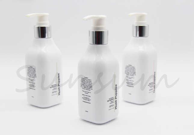 Plastic Shampoo Bottle Shower Gel Cosmetic Bottle