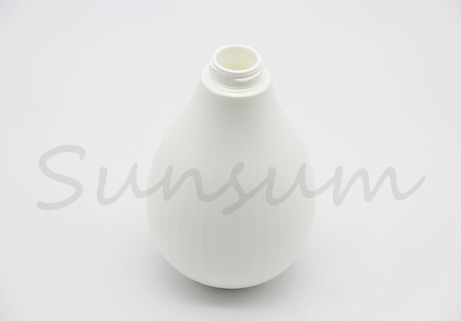 Ball Shaped Pet Plastic Cosmetic Lotion Bottle