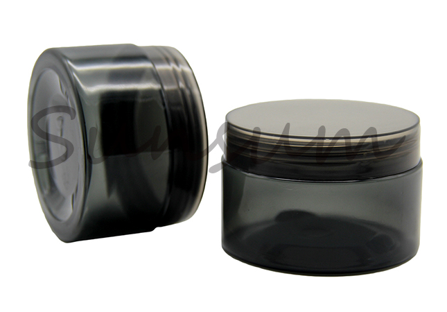 Gray Color Cosmetic Hair Treatment Cream Jar
