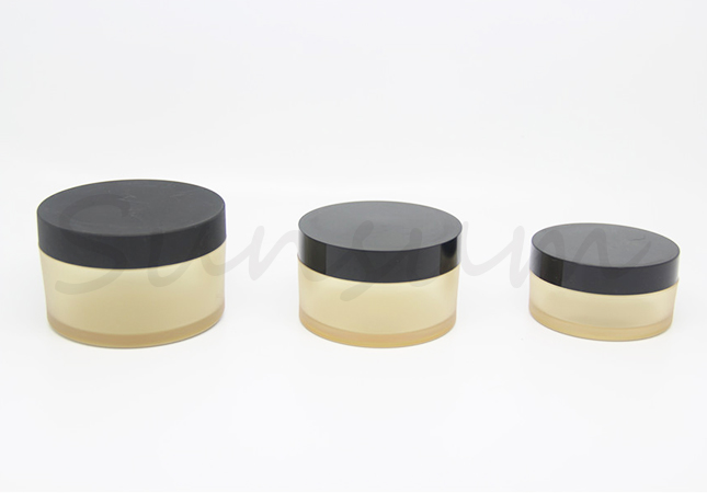 Frosted Body Cream Container Cosmetic Jar