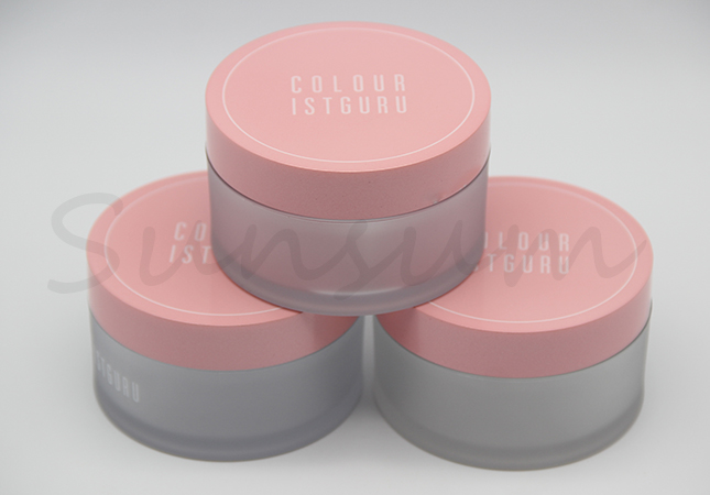 Free Sample 100ml Cosmetic Frosted Body Care Cream Jar