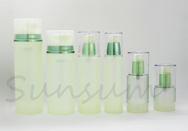 Guangzhou Manufacturer Airless Cosmetic Cream Bottle