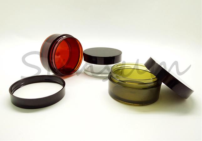 20g 30g Red Green Transparent Color Manufacturer Make Cosmetic Jar