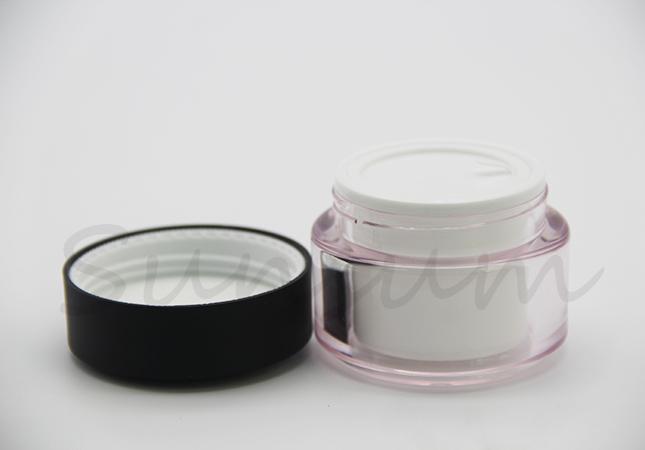 PET Plastic Cosmetic Eye Care Lotion Cream Jar