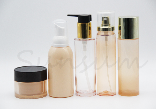 Set Travel Cosmetic Jar Foam Soap Lotion Cream Shampoo Bottle