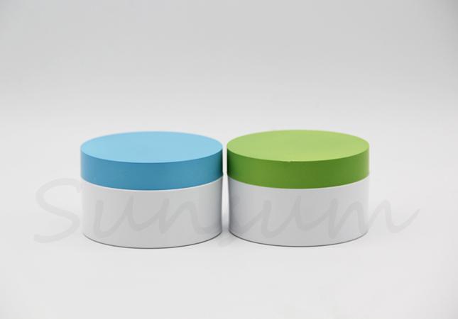 50g White Custom Cosmetic Lotion Facial Mask Cream Jar