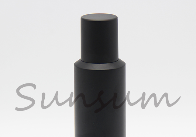 35ml Cosmetic Eye Care Liquid Airless Black Color Bottle