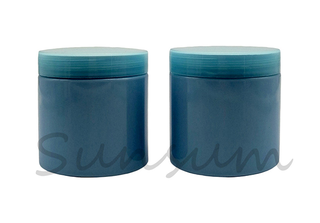 Hair Mask 500ml Cosmetic Packaging PET Plastic Jar
