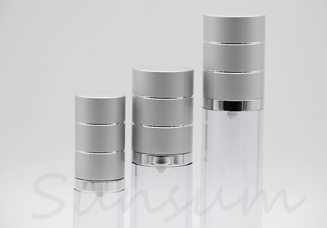 Manufacturer Plastic Airless Eye Cream Cosmetic Bottle Packaging