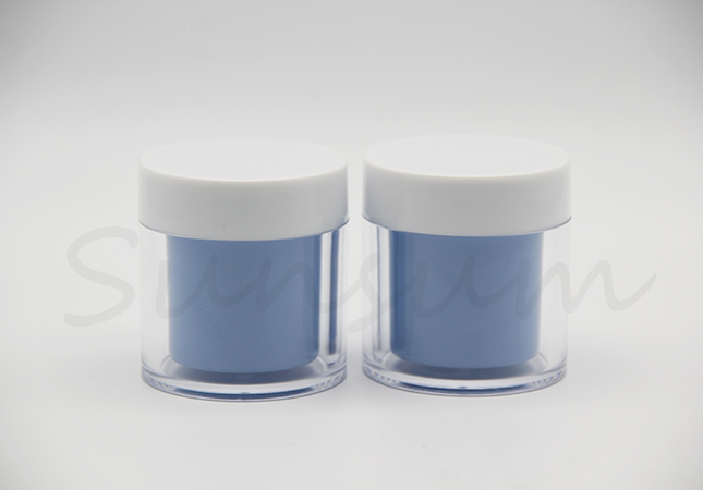 50g PET Plastic Cosmetic Skin Care Cream Jar