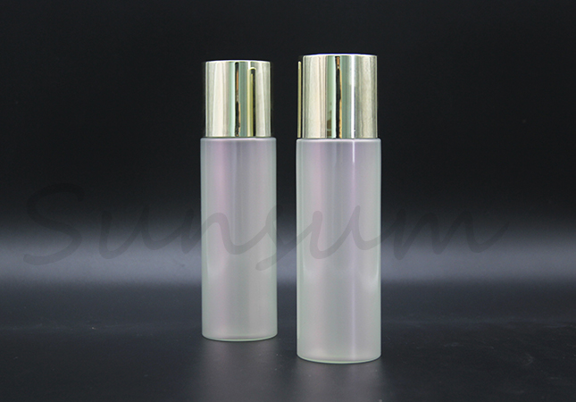 Pearly Lustre Color Toner Cosmetic 100ml Plastic Lotion Bottle