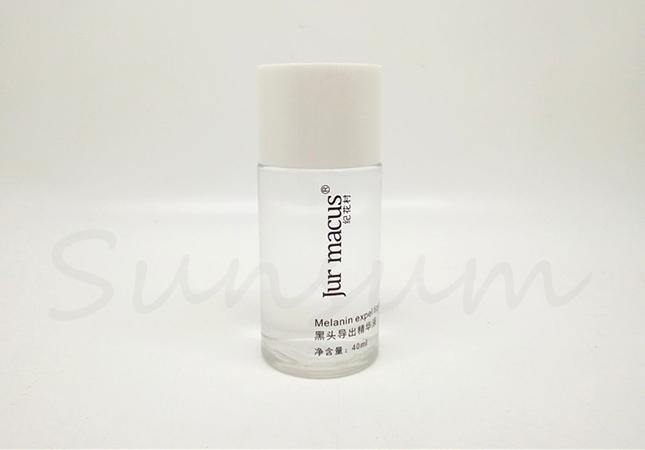 Transparent Color Cosmetic Plastic Liquid Toner Water Bottle