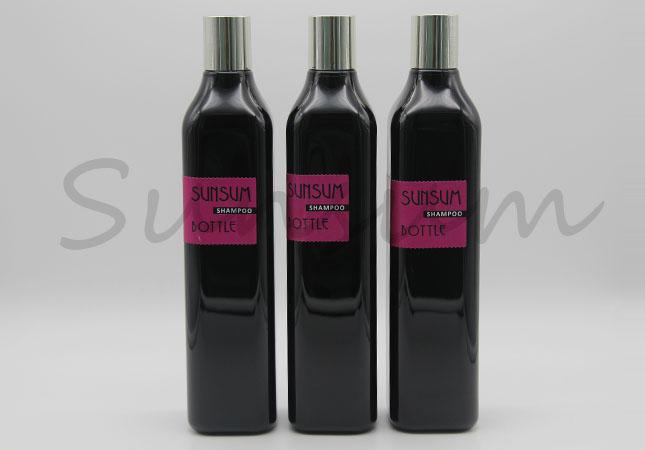 Black Matte 1L Cosmetic Cleanser Toner Water Bottle