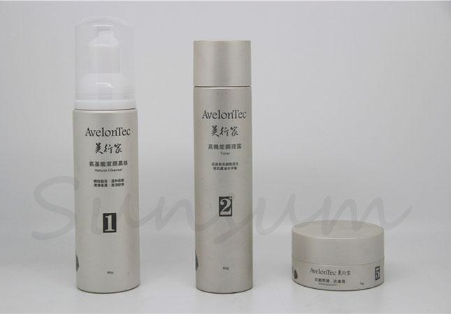 Cosmetic Plastic Foam Soap Color Jar Liquid Toner Bottle
