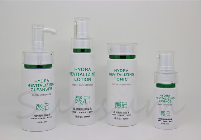 New Products Cosmetic PET Plastic Set Lotion Pump Bottle