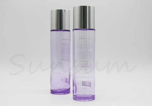 Thick Cosmetic Skin Care Liquid Toner Water Plastic Bottle