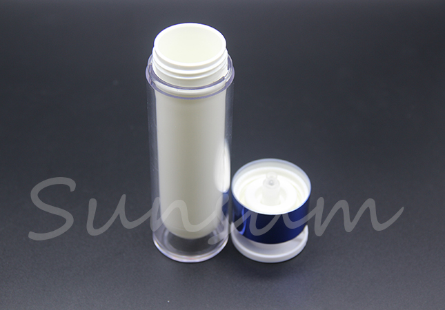 Cosmetic Airless Skin Care Plastic 15ml 30ml 50ml Bottle