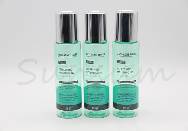 100ml 200ml 300ml Lotion Toner Water Cosmetic Plastic Bottle