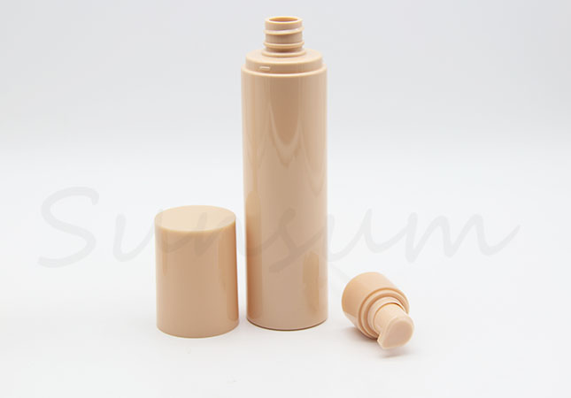 Unique Color Cosmetic Lotion Facial Care Cleanser Plastic Bottle