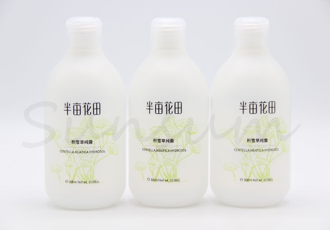 300ml HDPE Plastic Lotion Skin Care Cosmetic Packaging Bottle