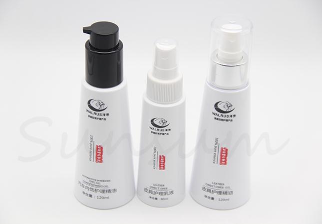 80ml 120ml Cosmetic Plastic Lotion Pump Spray Cleanser Empty Bottle