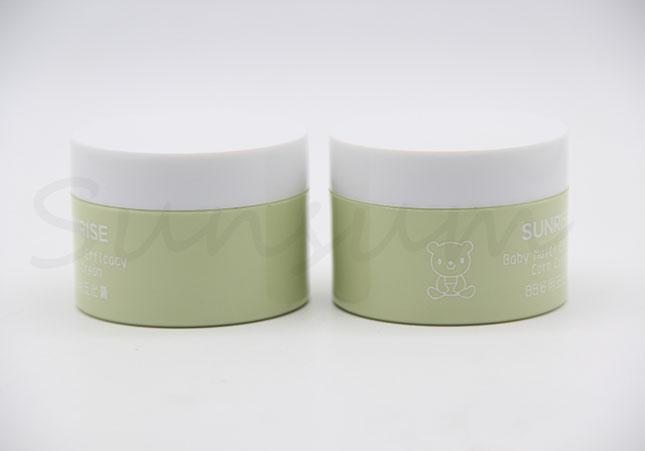 50g Cosmetic Plastic Skin Care Cream Jar