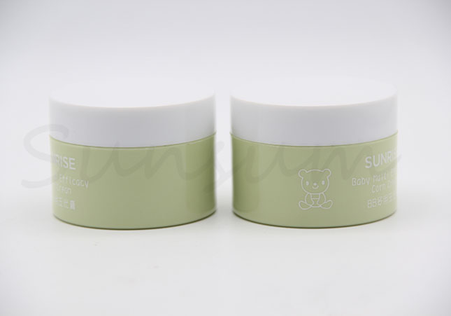 50g Cosmetic Plastic Skin Care Cream Jar