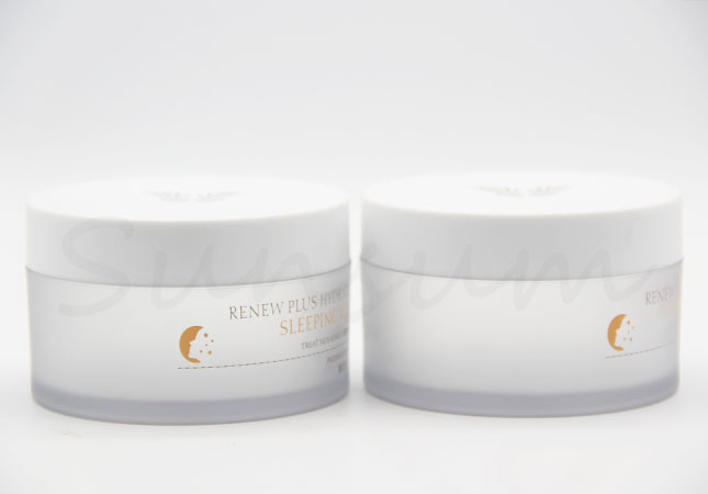 Cosmetic Frosted Facial Mask Jar with Customized