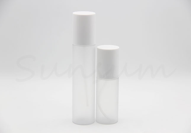 Frosted Cosmetic Lotion Pump Spray Transparent Lotion Packaging Bottle