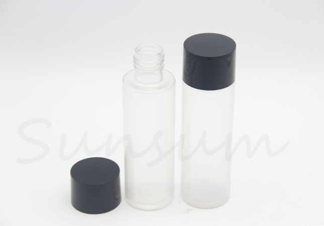 Cosmetic Toner Water Lotion Frosted 120ml PET Plastic Packaging Bottle