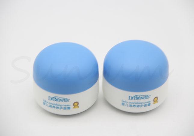 50g Baby Care Cream Cosmetic Plastic Jar