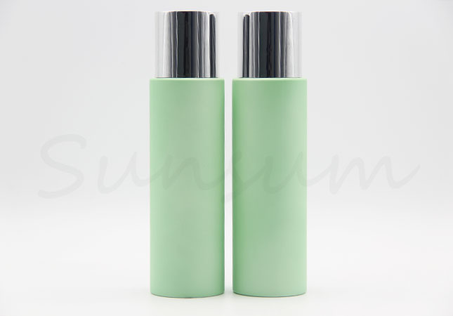Green Color Cosmetic PET Plastic Toner Water Bottle