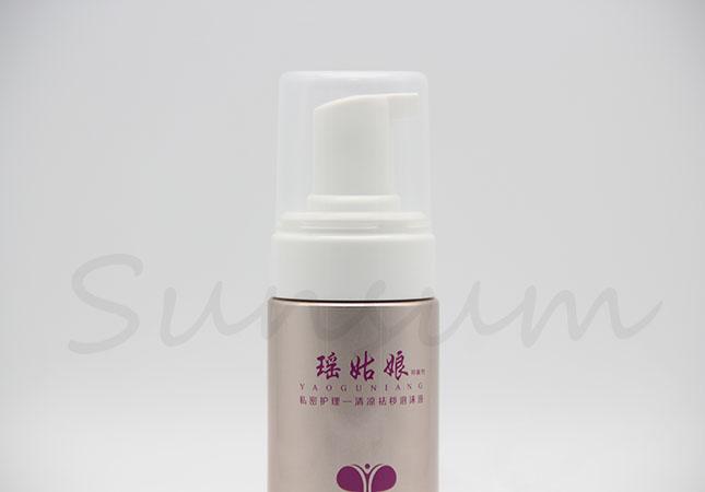100ml Cosmetic Facial Wash Foam Soap Bottle