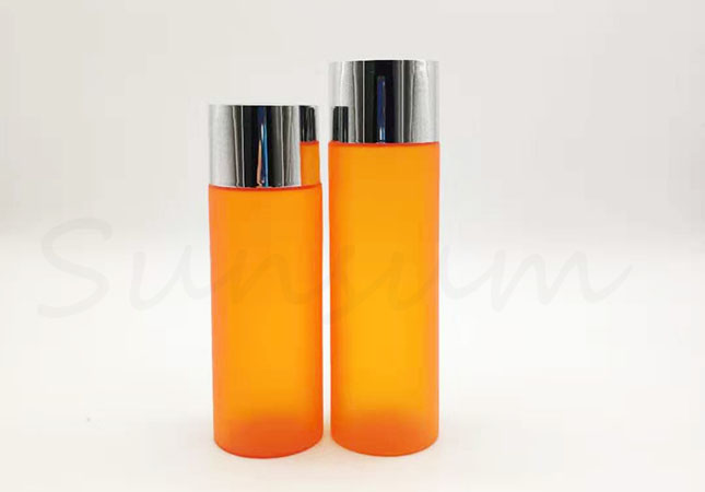 Color Matte Cosmetic Toner Water Inner Screw Cap Bottle