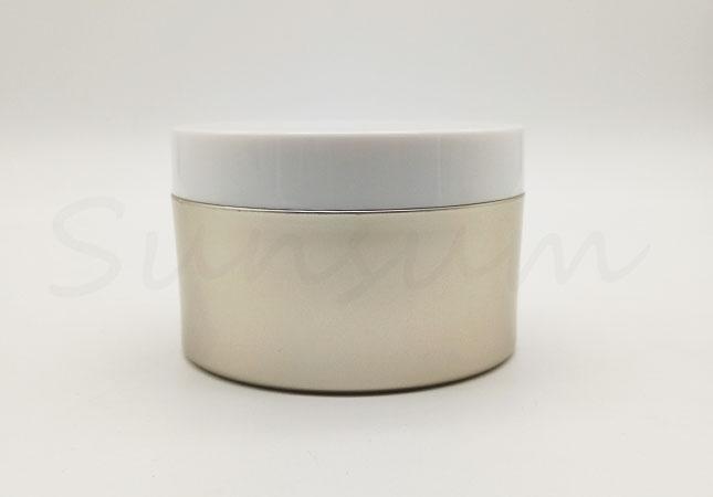 200ml Cosmetic PET Plastic Moisturizer Cream Jar