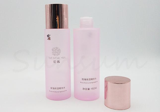 Pink Matte Color Cosmetic PET Plastic Toner Water Bottle