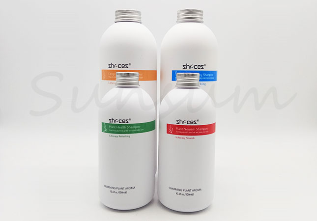 Cosmetic PET Plastic Lotion Hair Care Shower Gel Bottle with 1000ml