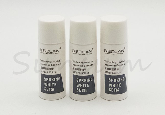 Small Size Travel Set Cosmetic PET Plastic Toner Water Bottle