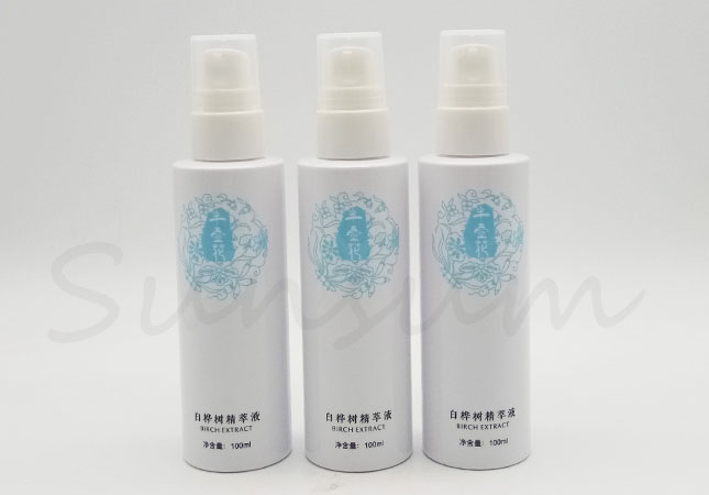 100ml Cosmetic PET Plastic Lotion Pump Mist Spray Bottle with Customized