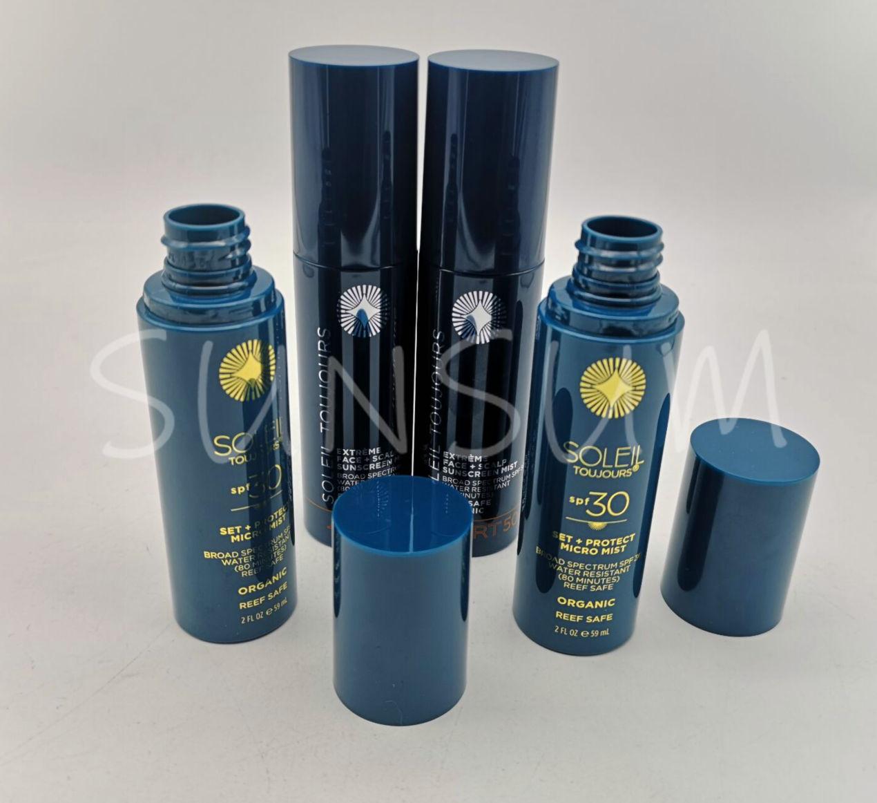 60ml set bottle plastic