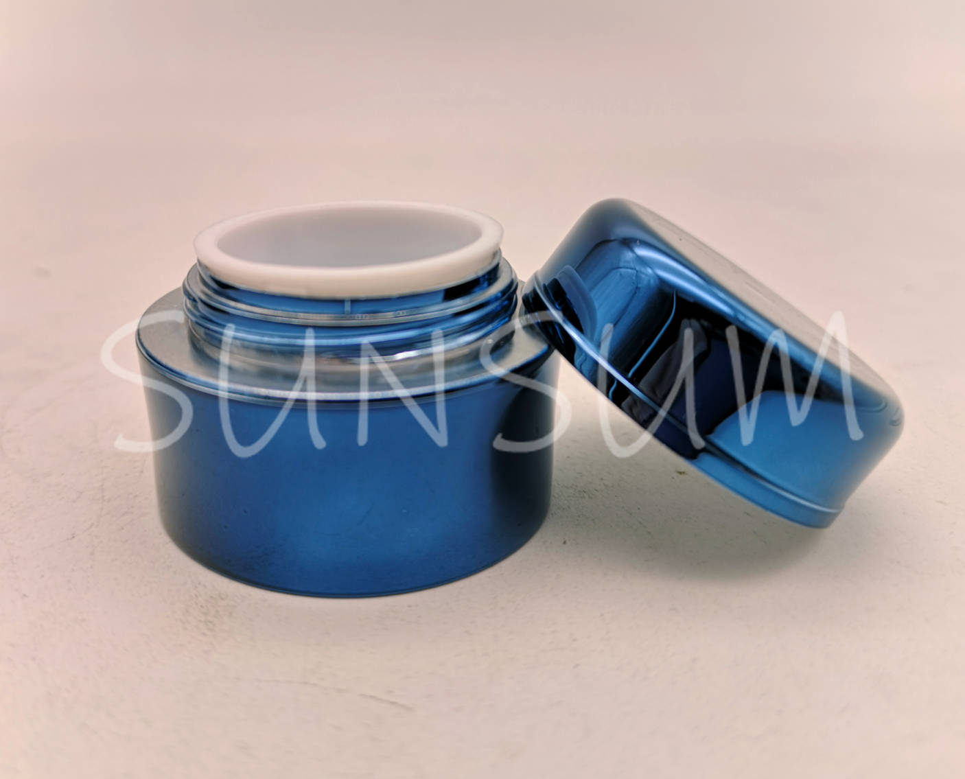 20g 50g blink colored cream jar