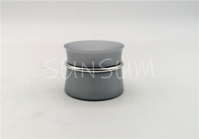 5g sliver color injection molding eye cream PP material jar