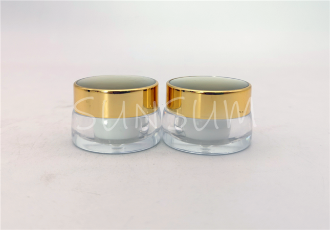 5g mini size double wall eye serum acrylic jar